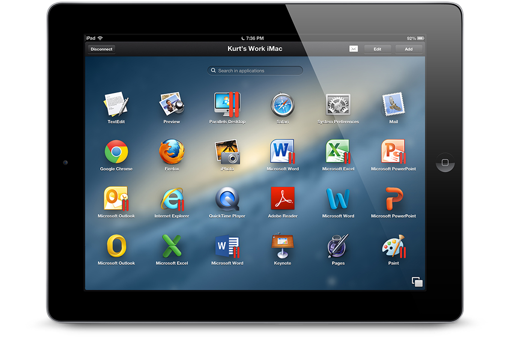Parallels Access Brings PC And Mac Applications To The iPad