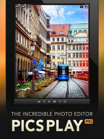 PicsPlay Pro Updated With Vibrance Control, Lighting Brush And More Stamps
