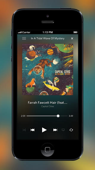 Rdio For iOS Updated With Station Tuning, Redesigned Collection And Filtered Search