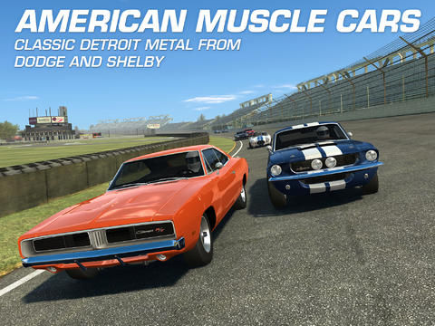 Electronic Arts' Real Racing 3 Goes Full Turbo With New American Muscle Car Update
