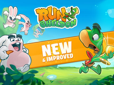Get Turbo-Charged By Gliding And Smashing Harebrained Enemies In Run Sheldon!