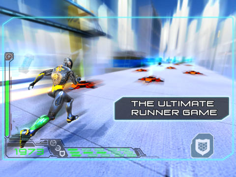 Sci-Fi Endless Running Game RunBot Bolts Into The App Store