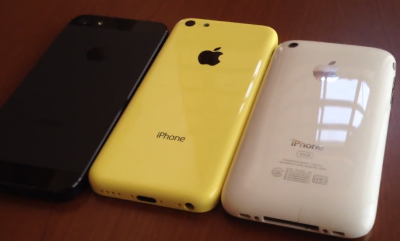 Back Housing Of The Rumored Yellow 'iPhone 5C' Makes Video Debut