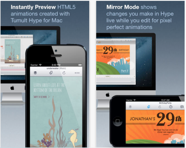 Hype Reflect Makes It Possible To Instantly Preview HTML5 On An iDevice