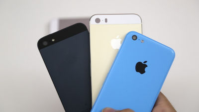 Exclusive: First Video Comparing Rumored Gold iPhone 5S With 5C