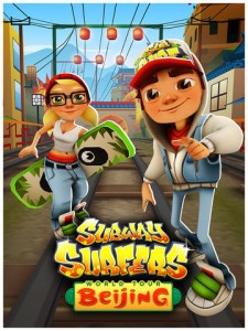 Traverse The Great Train Tracks Of China In Subway Surfers' New World Tour Stop
