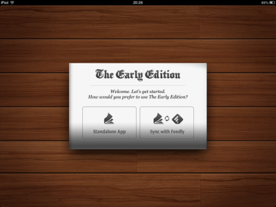 Following Google Reader's Demise, The Early Edition 2 Gains Support For Feedly