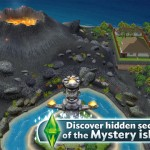 Journey To Mystery Island Off The Coast Of Sim Town In The Sims FreePlay