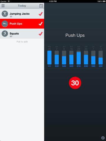 Thirtyaday Fitness App Goes Free And Universal With First Ever Update