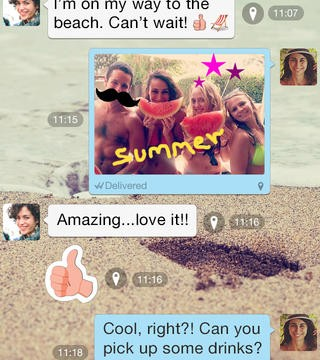 Viber Messaging App Updated With Doodling Feature, 'Seen' Status Indicator And More