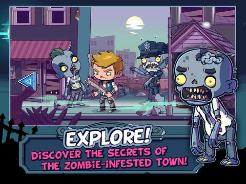 Zombies Ate My Friends But I Won't Let Them Eat Me In Glu Games' Newly Updated Game
