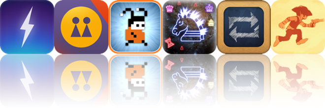 Today's Apps Gone Free: Thunderspace, Clone Camera, Mos Speedrun And More