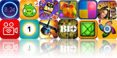 Today's Apps Gone Free: Wake Alarm, Bad Piggies, Wubbzy The Superhero And More
