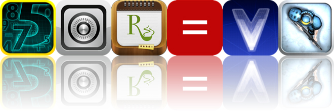 Today's Apps Gone Free: Strength In Numbers, Squirrel 2, RecipePad And More