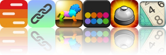 Today's Apps Gone Free: iAgenda Pro, Link It Up, My First 3D Puzzle And More