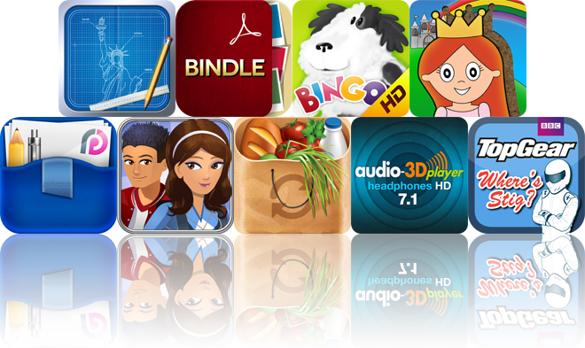 Todays apps gone free blueprint 3d bindle kids music hd and more malvernweather Images