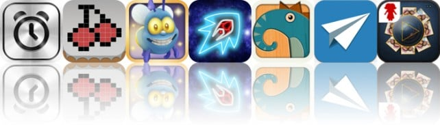 Today's Apps Gone Free: SpeakToSnooze, MiniPics, Shiny The Firefly And More