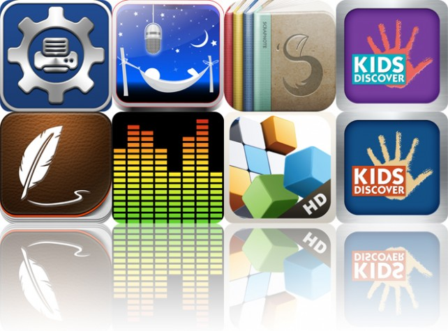 Today's Apps Gone Free: Print Utility, Dream Talk Recorder, Scrapnote And More