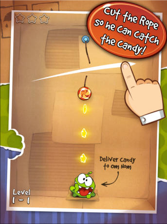 Cut The Rope Named App Of The Week And Can Be Downloaded For Free