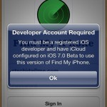Updated: Apple Pushes iOS 7 Version Of Find My iPhone, Leaving iOS 6 Users Screwed