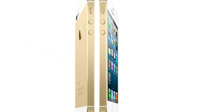 Another Report Says That A Gold 'iPhone 5S' Is Coming