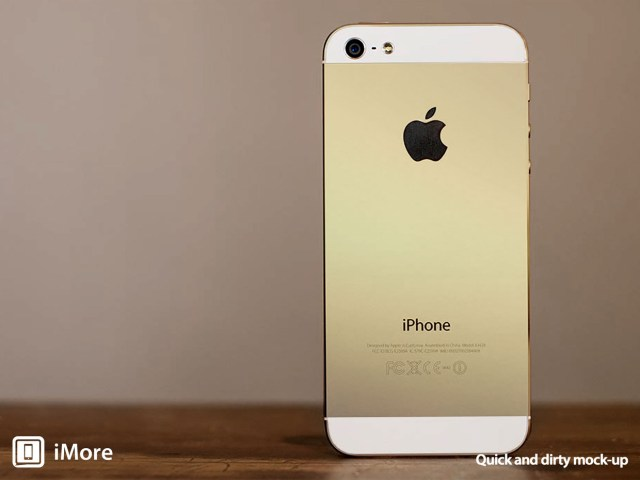 Apple All But Confirmed To Go For Gold With Next-Generation iPhone