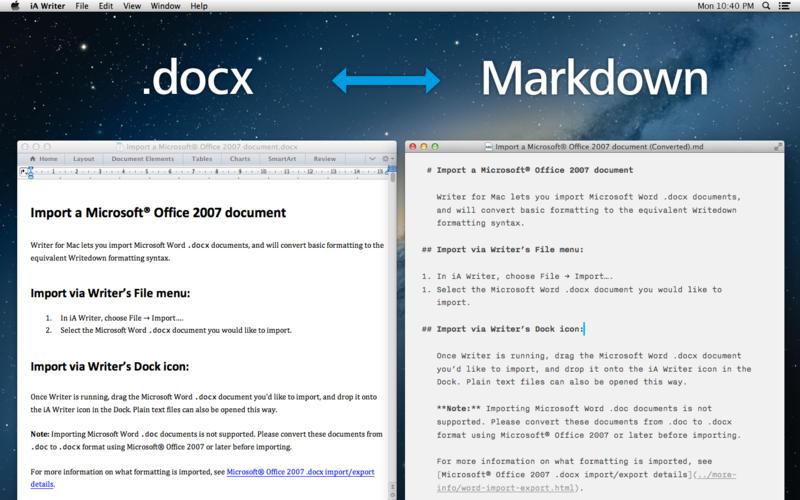 Ia writer mac download
