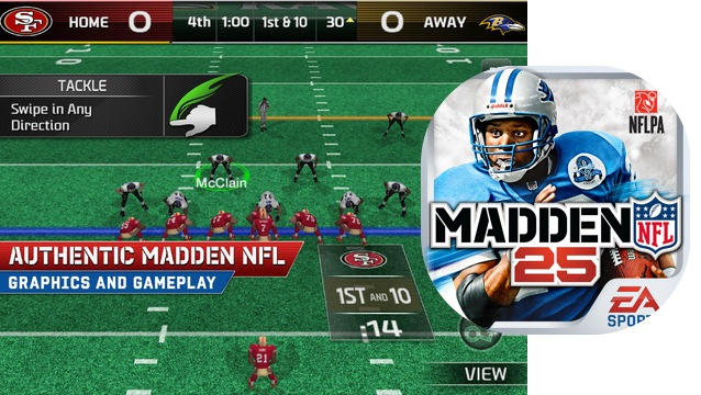 Madden NFL 25 Launches In The App Store As A Freemium Game