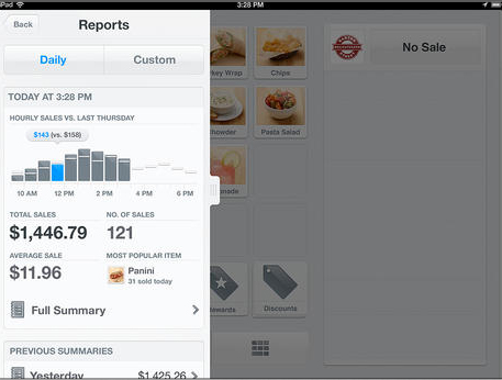 The Square Register App Can Now Keep Track Of Gift Card And Check Purchases
