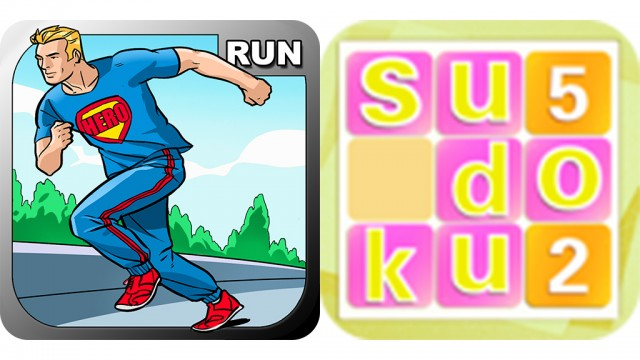 Today's Best Apps: Run Hero And Sudoku
