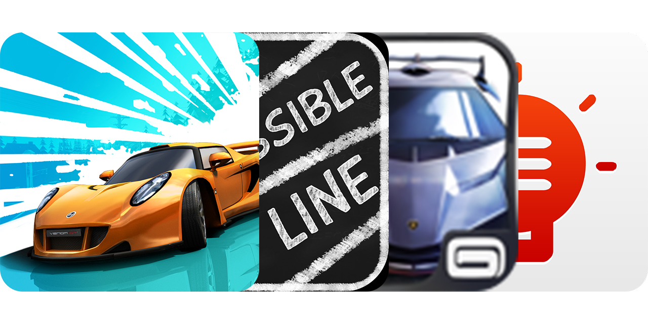Today's Best Apps: Smash Bandits, The Impossible Line, Asphalt 8: Airborne And More