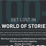 Next Issue Now Includes Over 100 Digital Magazine Titles For One Monthly Price