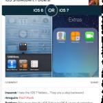 It's A Smack Down: Apple's iOS 6 Or iOS 7?