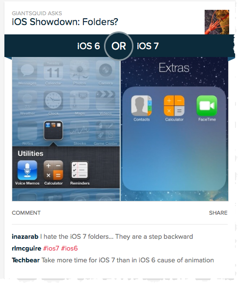 It's A Smack Down: Apple's iOS 6 Or iOS 7?