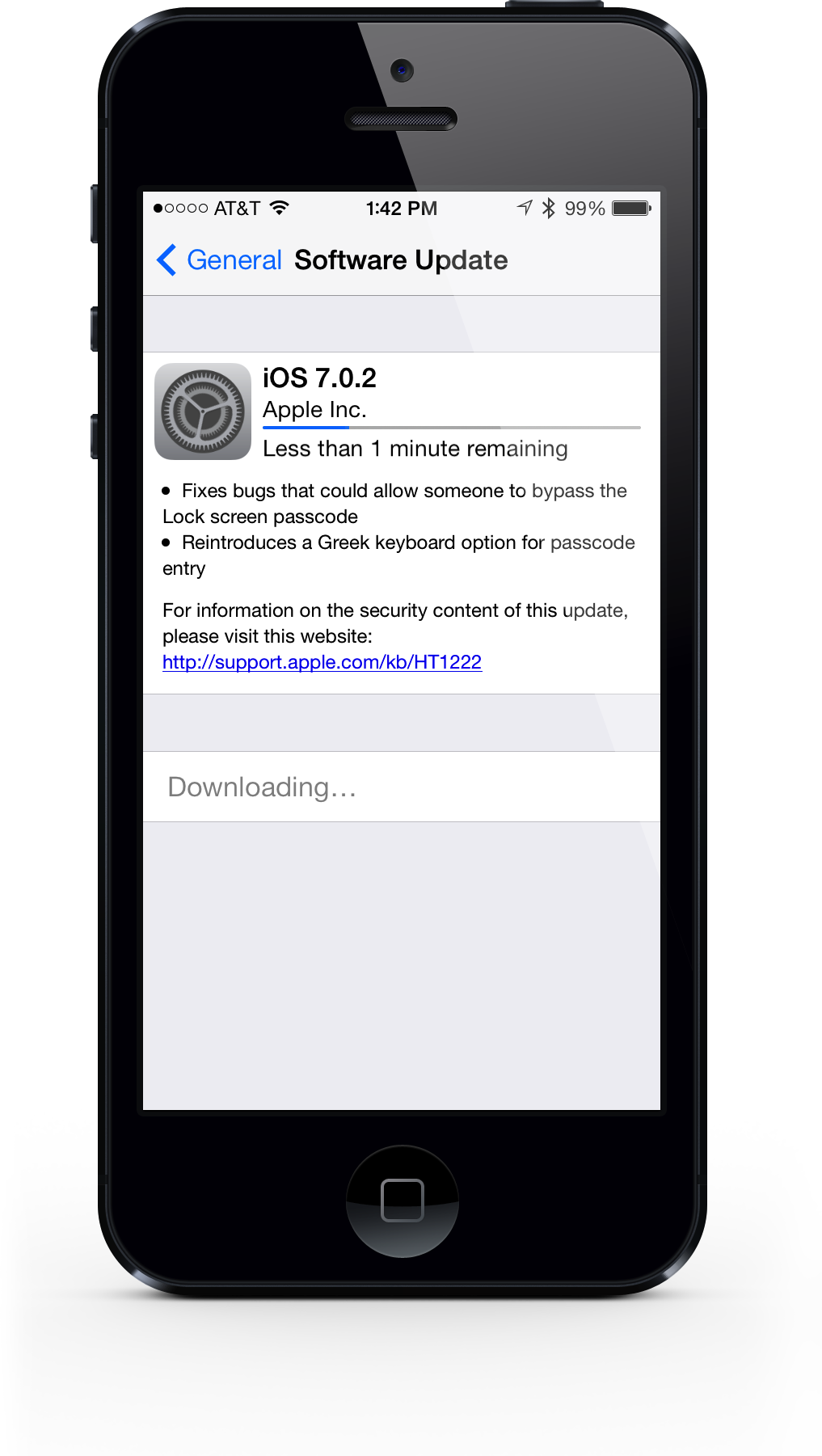 Apple Releases iOS 7.0.2 To Fix The Lock Screen Security Bug