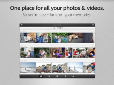 Adobe Revel Gains Support For Videos With New Auto-Import And Sharing Options