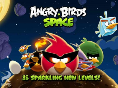 Rovio Adds 35 New Levels To Angry Birds Space Through Cosmic Crystals Update