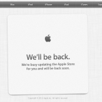 Apple Takes Down Online Store In Anticipation Of Initial Preorders For iPhone 5c
