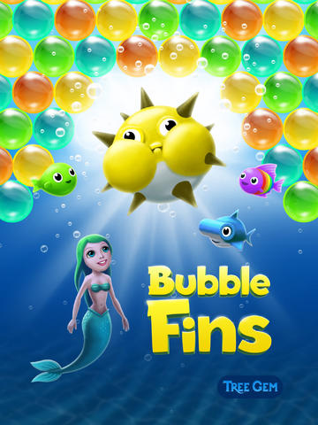 Underwater Puzzle Shooter Bubble Fins Goes Universal With iPad Support