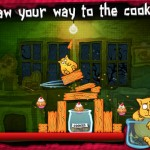 Help A Fat Cat Get His Paws On Some Delicious Cookies In Chillingo's Cat On A Diet