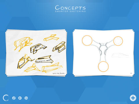 Concepts 2.0 Introduces iOS 7-Optimized UI Plus New Major Sketching Enhancements