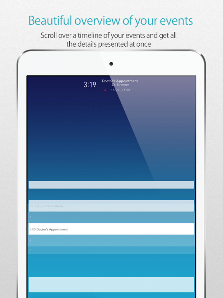 Shortly After Its iPhone Debut, Daily Calendar Is Now Available For iPad