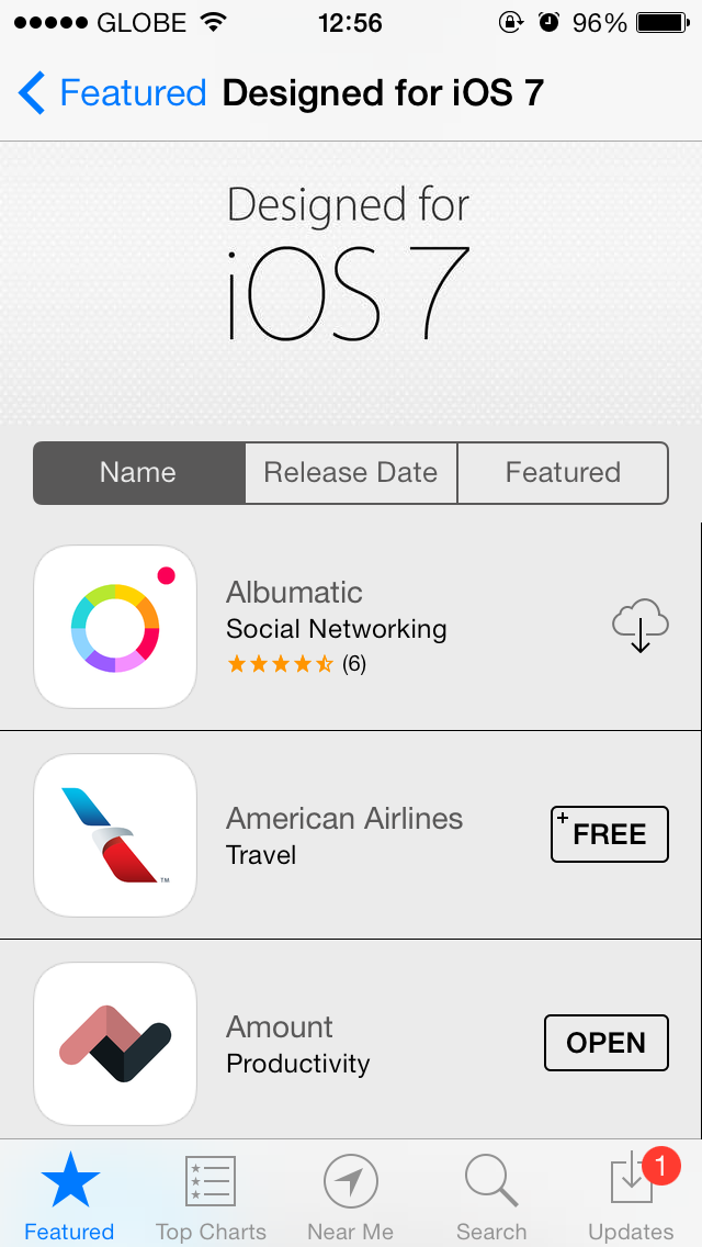 Quirky iOS 7 Glitch Causes Apps To Do The Wiggle