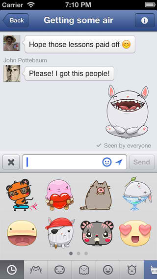 Facebook Messenger Satisfies Need For Speed With Improved Switching And Scrolling