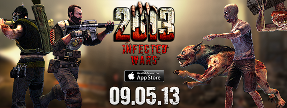 This Thursday, 2013: Infected Wars Is Set To Hit The App Store