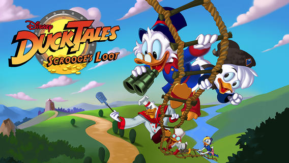 Disney's DuckTales: Scrooge's Loot Is A Fun, Online Treasure-Hunting iOS Game