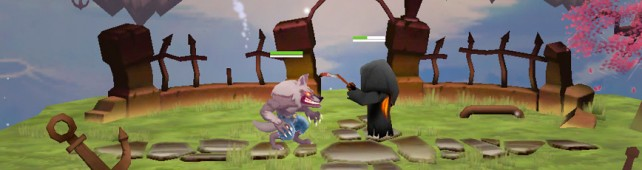 Beta Footage Of Fright Fight's Grim The Reaper Character Appears Online