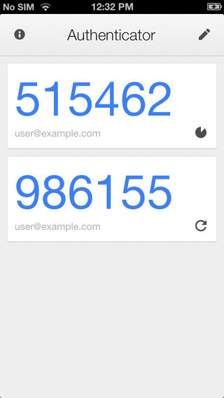 Google Authenticator Gets A New Look: Adds iPhone 5 And Retina Display Support