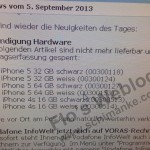 More Evidence Apple's 16GB iPhone 5 Will Live On Surfaces Online