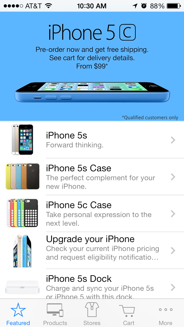 Apple Updates Its Own Apple Store iOS App Ahead Of iOS 7